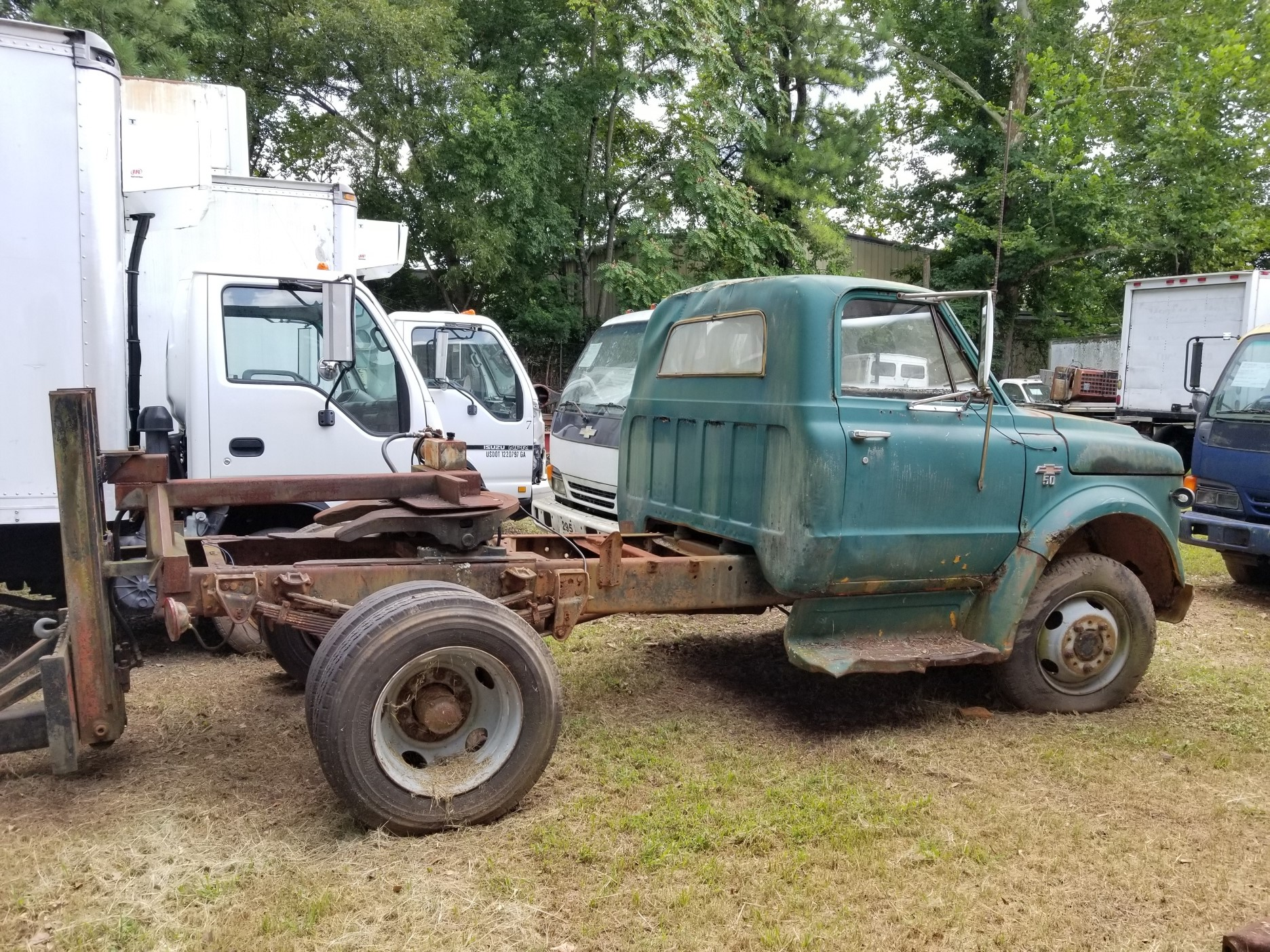 Cab and Chassis Trucks for Sale