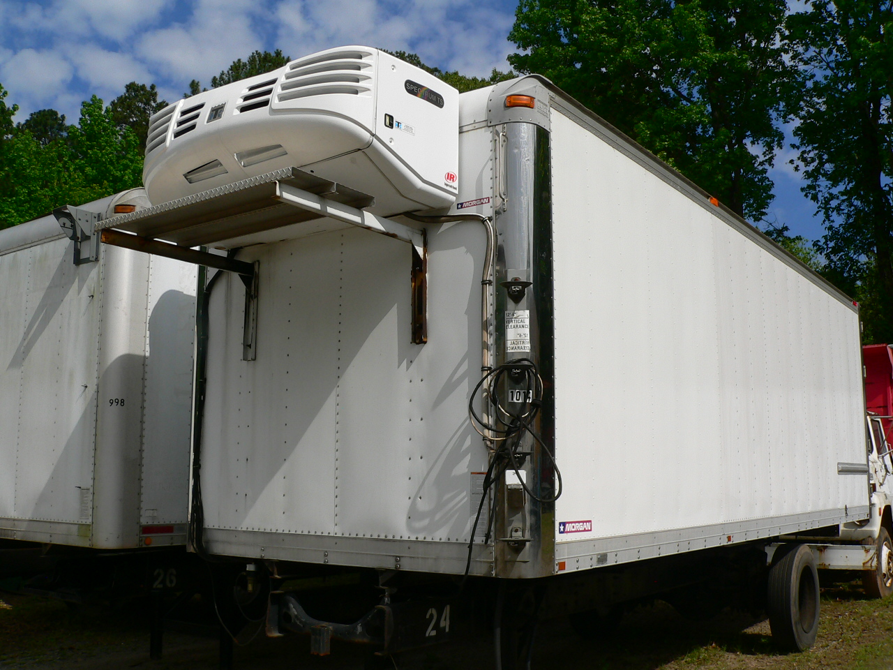 Used Refrigerated Truck Body For Sale Kidron Refrigerated