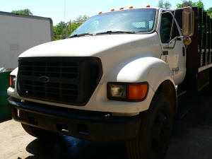 1054, Ford F650 with engine problem