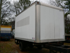 1084, 16ft used truckbody with gate