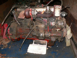 411, 1985 Mack Renault engine for parts