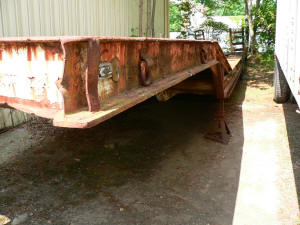 567, Lowboy trailer for sale