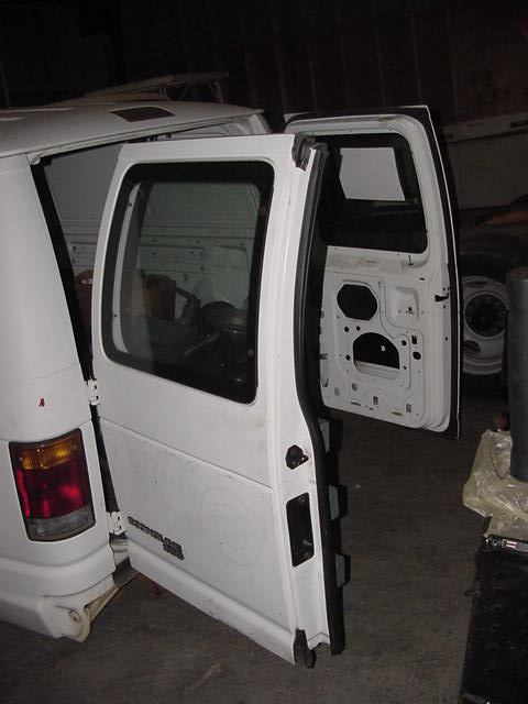 Used Cargo Van Parts