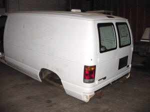 578, 1993 Ford E250 used rear doors
