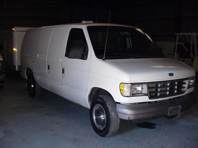 Chevrolet Astro Van Right Side