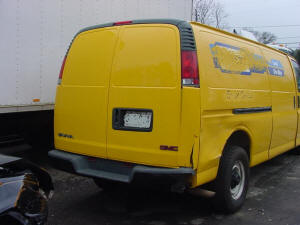 612, 99 GMC Savana used rear doors
