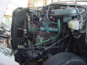 Used Big Truck Engines including Catapillar Engines, Cargo Van