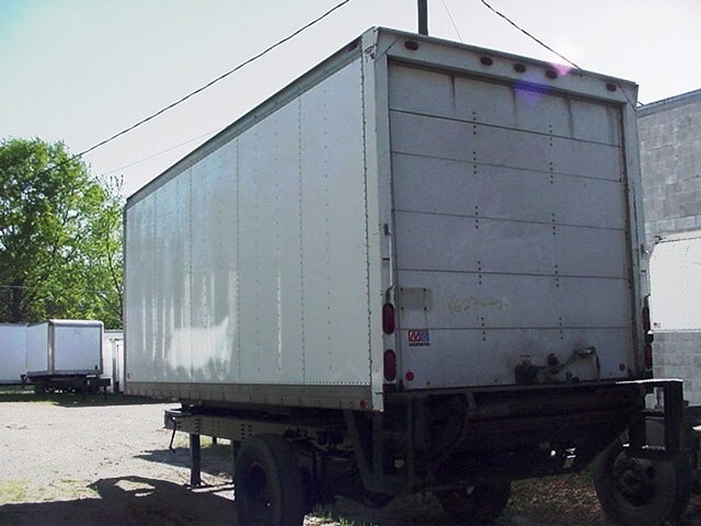 Used 20ft Truck Bodies For Sale Dry Freight 20 Truck Body