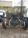 1991 International 4600 frame rails, rear axle
