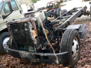 925, 1991 International 4600 used truck parts