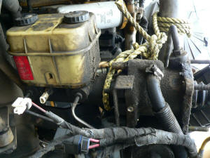 955, Ford F650 master cylinder and resevoir