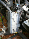 955, 2004 Ford F650 Relay box with wiring harness
