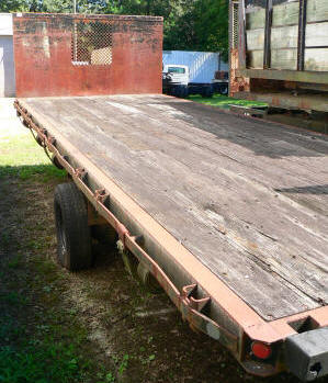 989, Morgan used flatbed 20ft