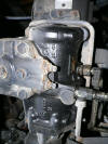 A016, 1989 Volvo FE613 steering gear box
