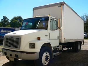 A089, 1998 Freightliner Box Truck 22 feet long for sale