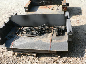 F56, 2010 used Theiman pickup truck or service truck gate