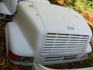 H248. International 8100 used hood