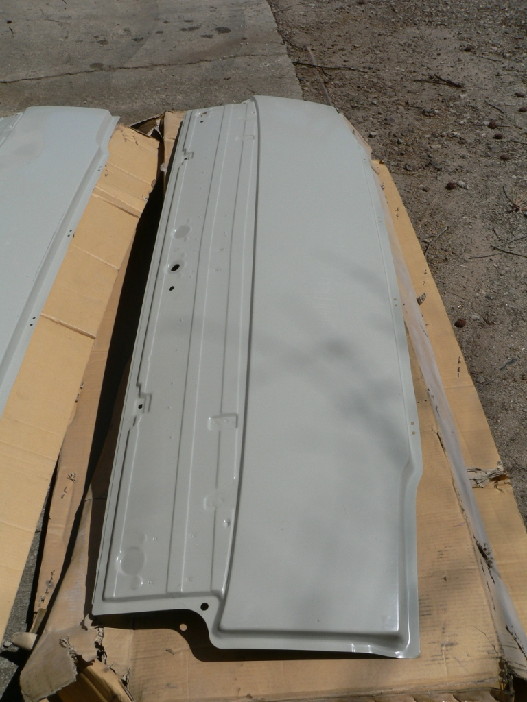 Big Truck Hoods for Sale, all are used.