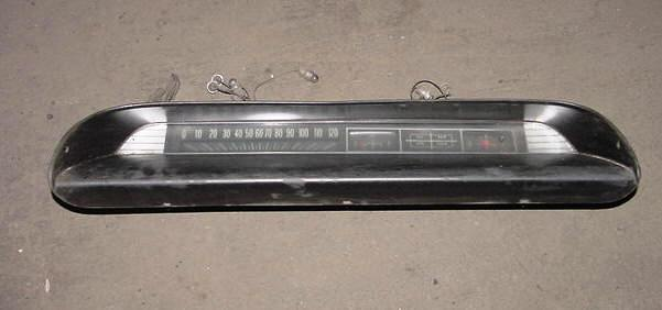 Chevy Belair Biscayne Instrument Cluster Panel S Top